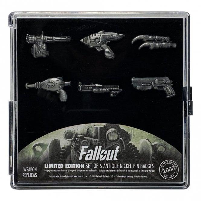 Fallout Weapons Pin Badge Set