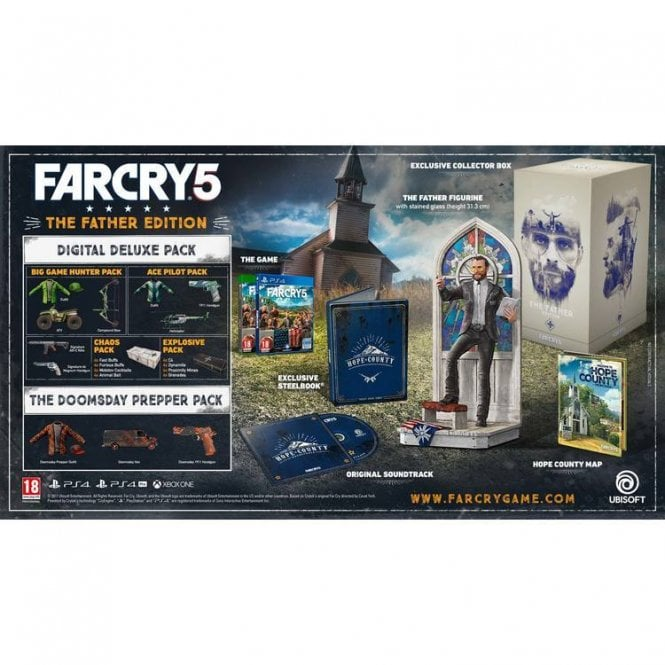 Far Cry 5 Father's Edition PS4
