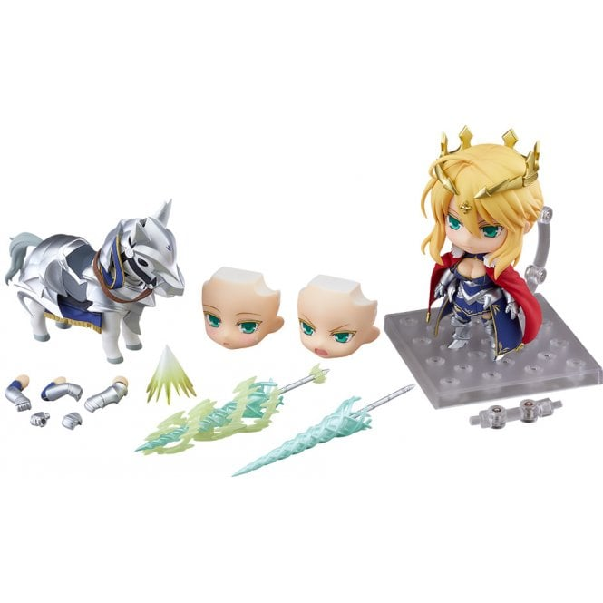 Fate/Grand Order Nendoroid Lancer/Altria Pendragon & Dun Stallion