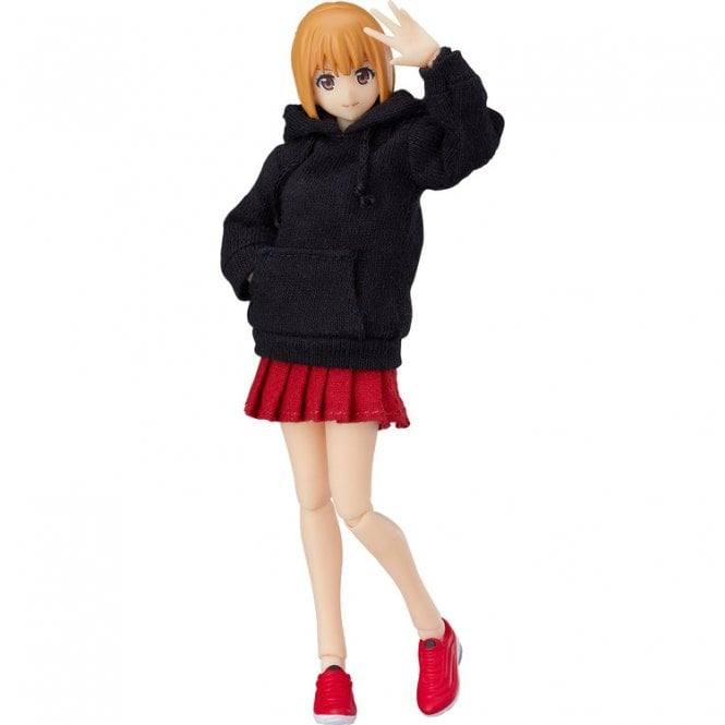 figma Female Body Emily with Hoodie Outfit