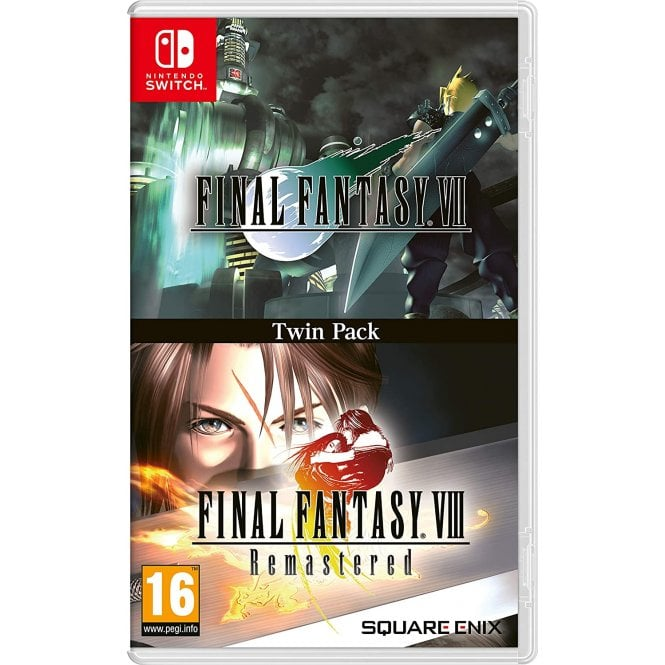 Final Fantasy VII and Final Fantasy VIII Remastered Switch
