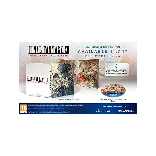 Final Fantasy XII Zodiac Age Limited Edition PS4