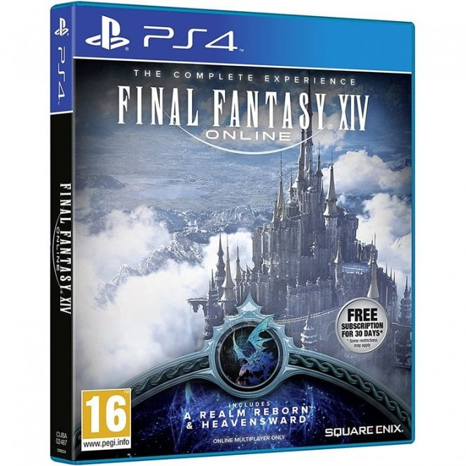 Final Fantasy XIV Heavensward Bundle PS4