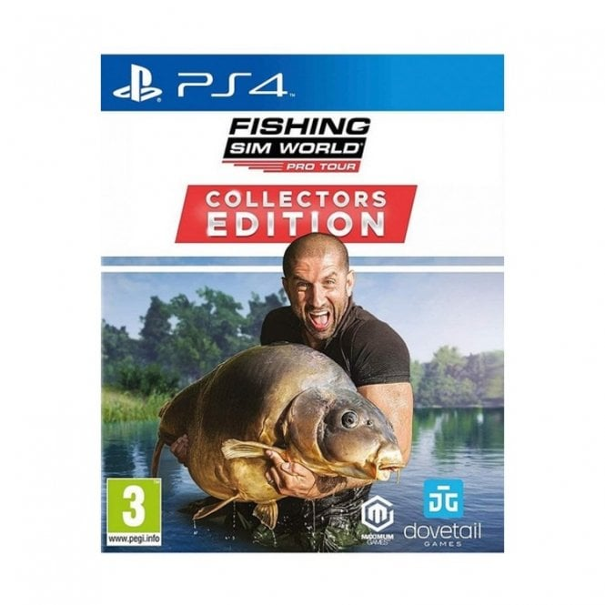 Fishing Sim World Pro Tour Collector's Edition PS4
