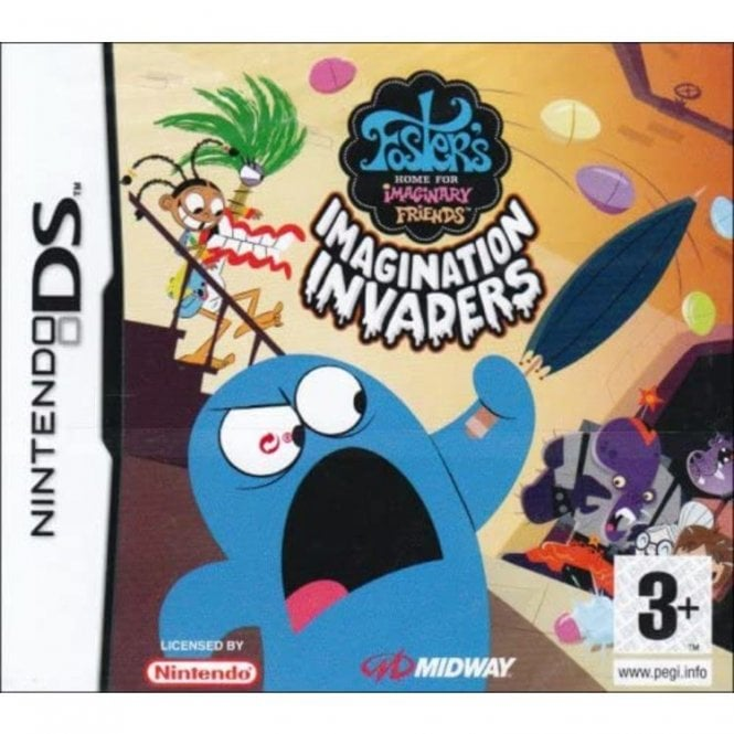 Fosters Home for Imaginary Friends DS