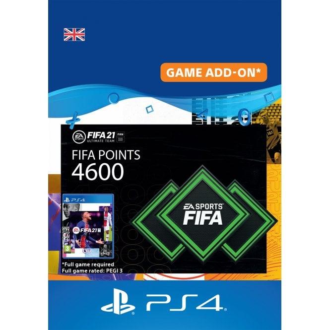FUT 21 FIFA 4600 Points