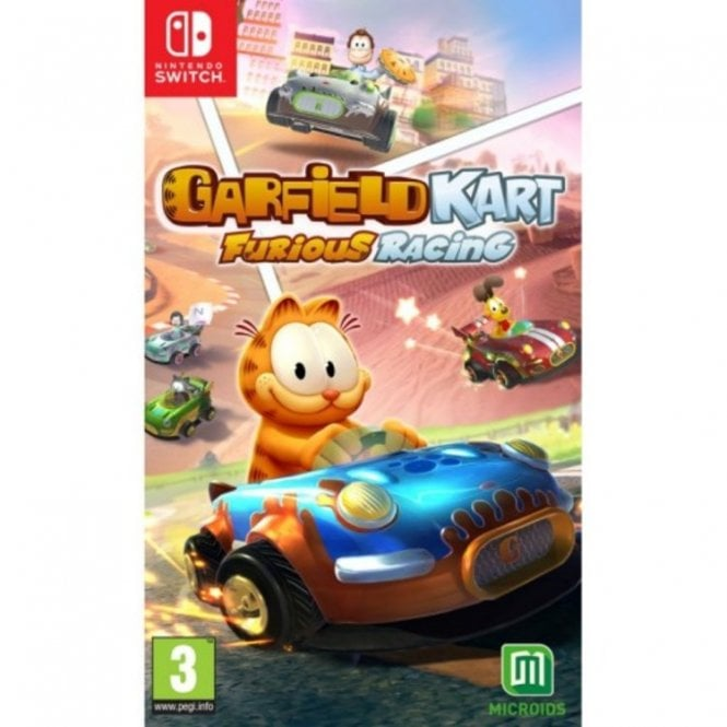 Garfield Kart Furious Racing Switch