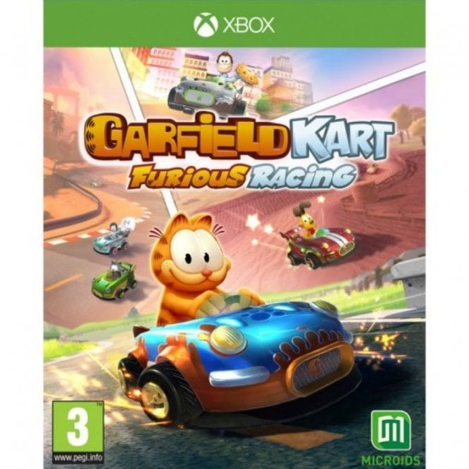 Garfield Kart Furious Racing Xbox
