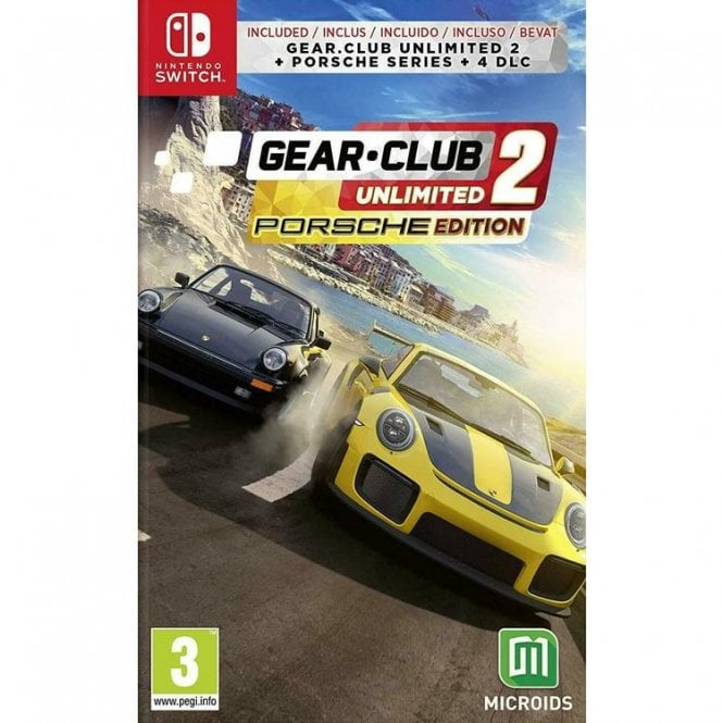Gear Club Unlimited 2 Porsche Edition Switch