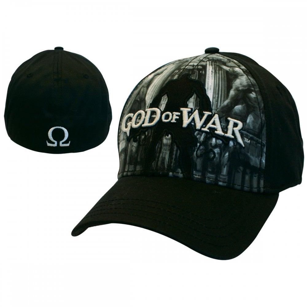 cd119a138b5 God Of War Black Flex Front Full Print - Epic Loot from Gamersheek