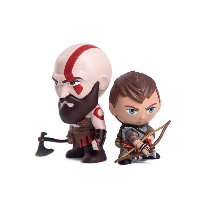 God of War Kratos & Atreus Mini Figure 2-Pack