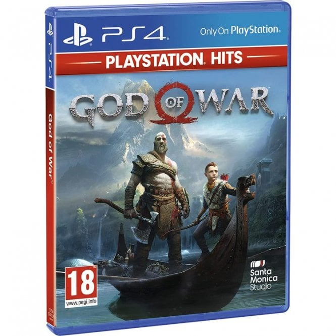 God of War Playstation Hits PS4