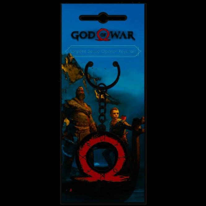 God of War Serpent Bottle Opener Keyring
