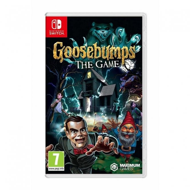 Goosebumps The Game Switch