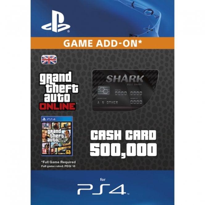 GTA V - Bull Shark Cash Card