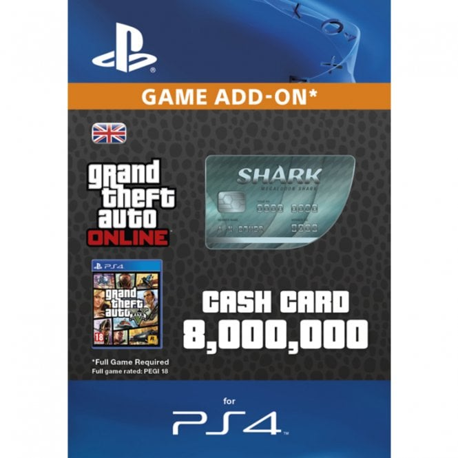 GTA V - Megalodon Shark Cash Card