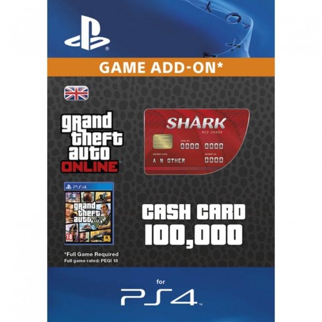 GTA V - Red Shark Cash Card