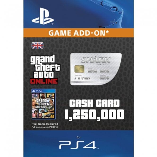 GTAV - Great White Shark Cash Card