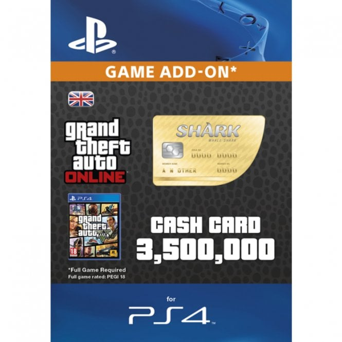 GTAV - Whale Shark Cash Card