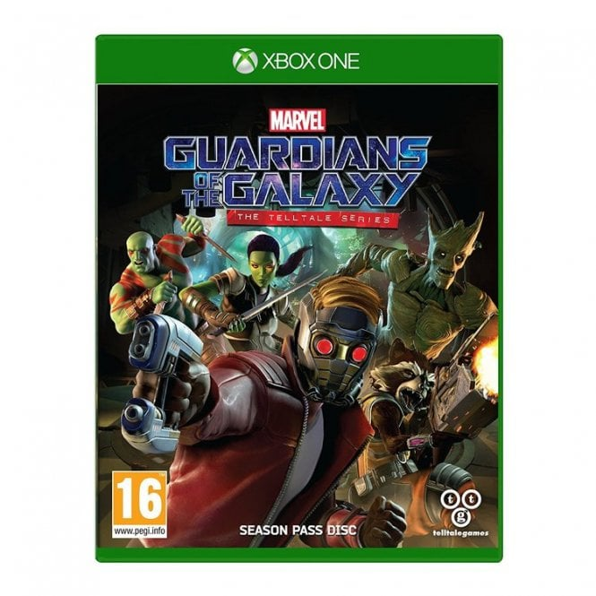 Guarians of the Galaxy Telltale Series Xbox