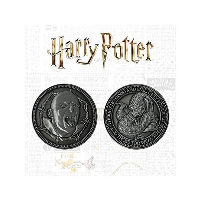 Harry Potter Limited Edition Voldermort Coin