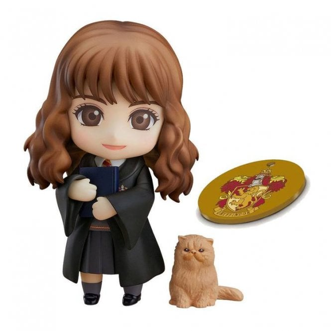 Harry Potter Nendoroid Hermoine Grainger with Exclusive Orange Base