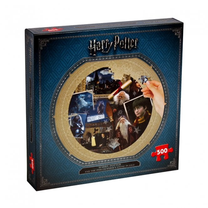 Harry Potter Philosophers Stone Round Jigsaw