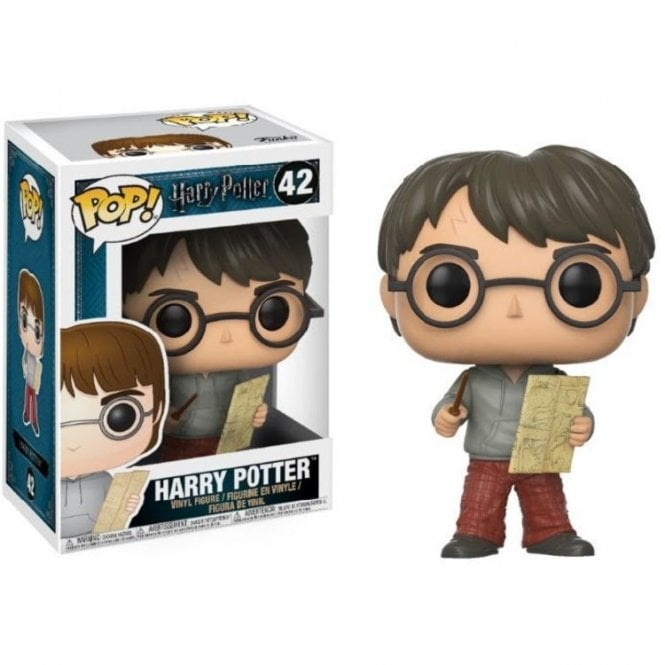 Harry Potter with Marauder's Map POP! Vinyl