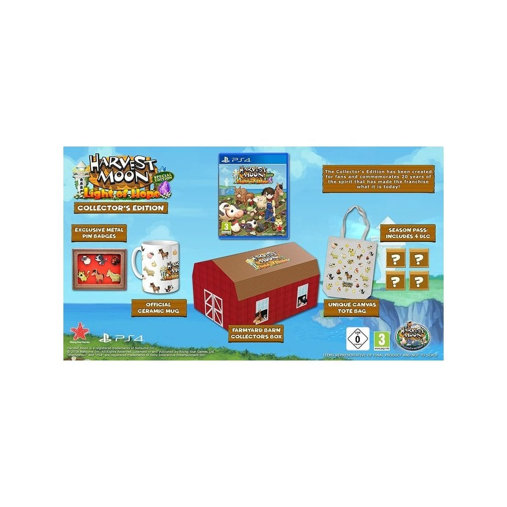 Harvest Moon: Light of Hope Collectors Edition PS4