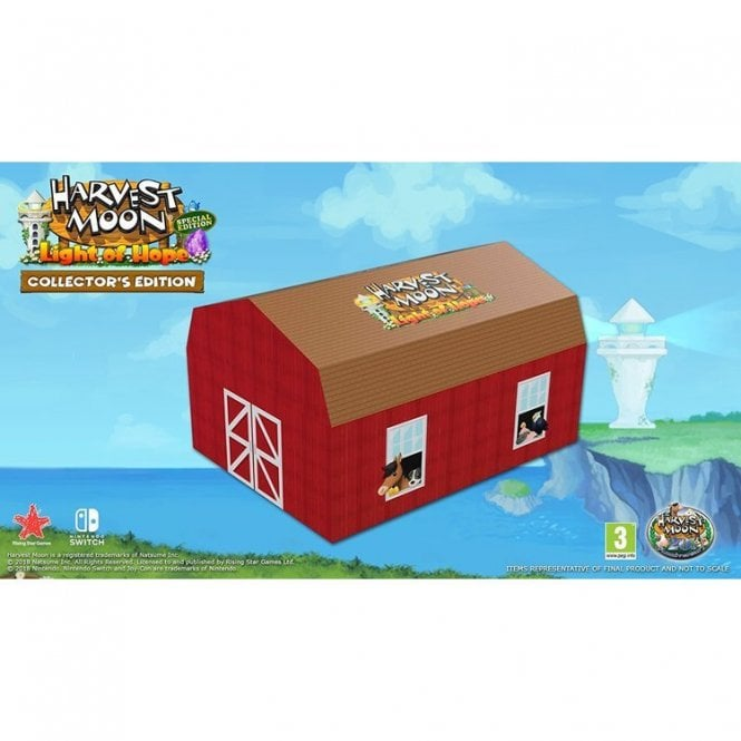 Harvest Moon: Light of Hope Collectors Edition Switch