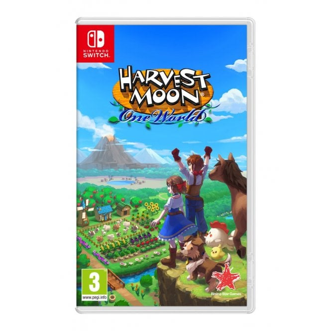Harvest Moon One World Switch