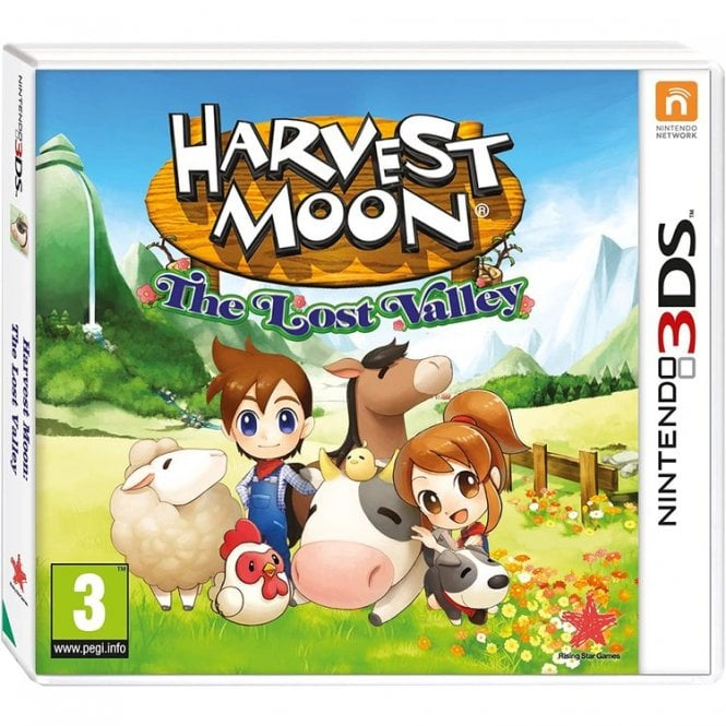 Harvest Moon - The Lost Valley 3DS