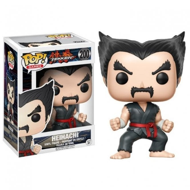 Heihachi Black and Red Judo Exclusive POP! Vinyl