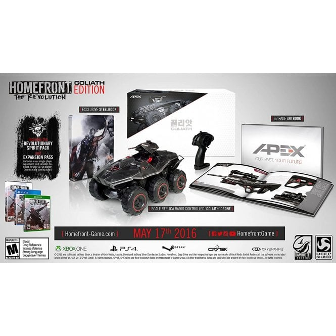 Homefront Revolution Goliath Edition Xbox