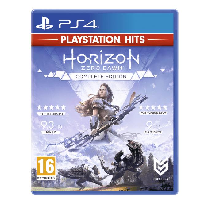 Horizon Zero Dawn Hits PS4