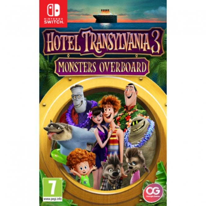 Hotel Transylvania 3 Monsters Overboard Switch