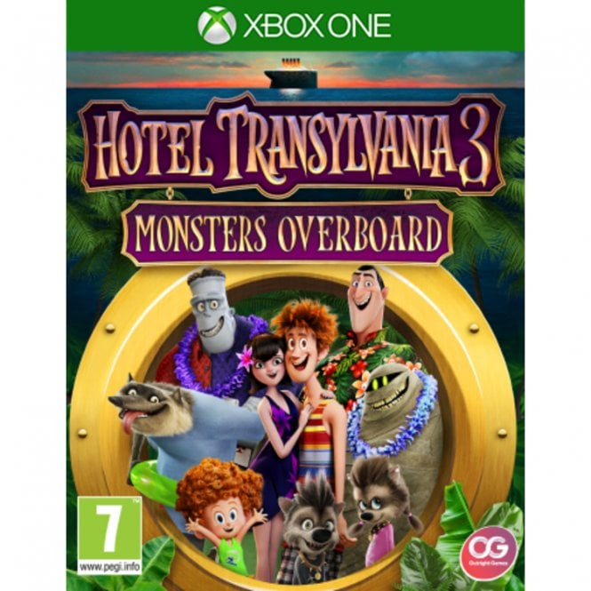 Hotel Transylvania 3 Monsters Overboard Xbox