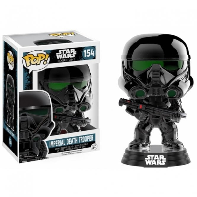 Imperial Death Trooper Chrome Exclusive POP! Vinyl