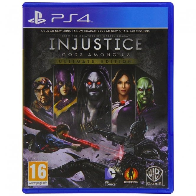 Injustice God Among Us Ultimate Edition PS4