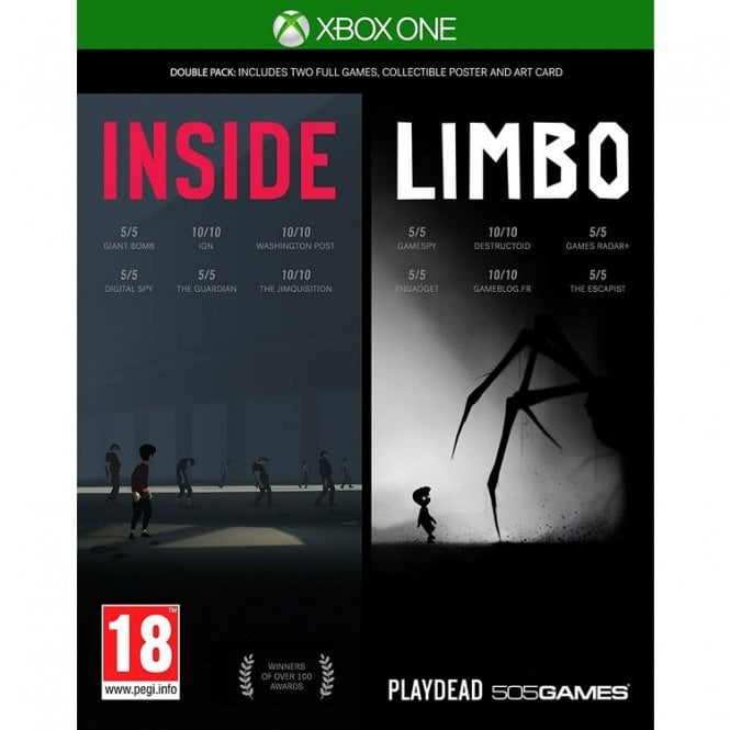 Inside & Limbo Double Pack Xbox