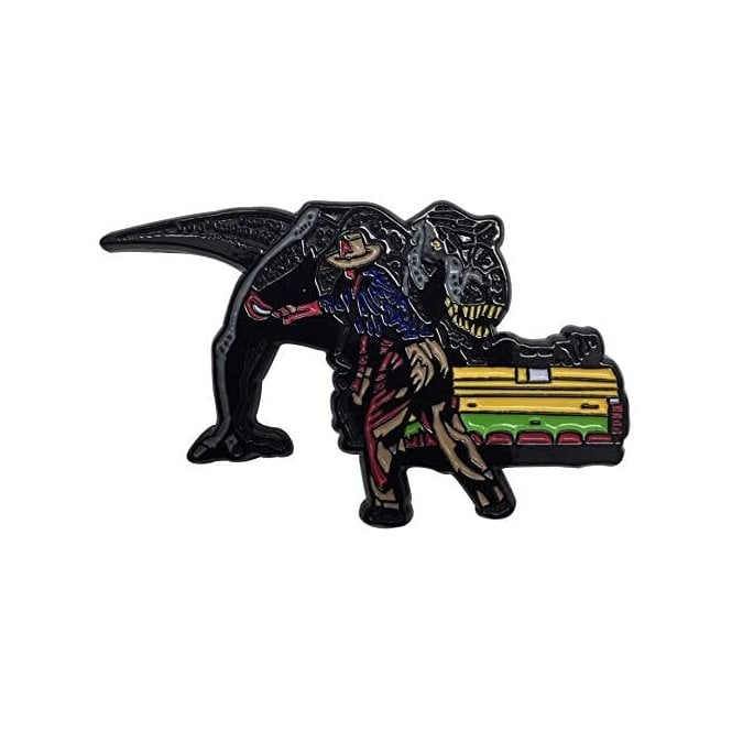 Jurassic Park Pin Badge