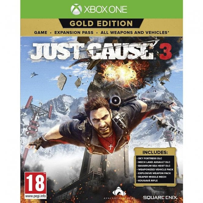 Just Cause 3 Gold Edition Xbox