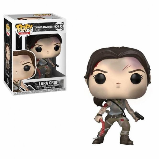 Lara Croft POP! Vinyl Battle Worn