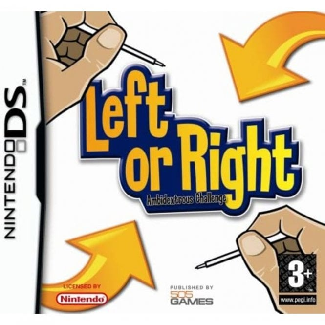 Left or Right Ambidextrous DS