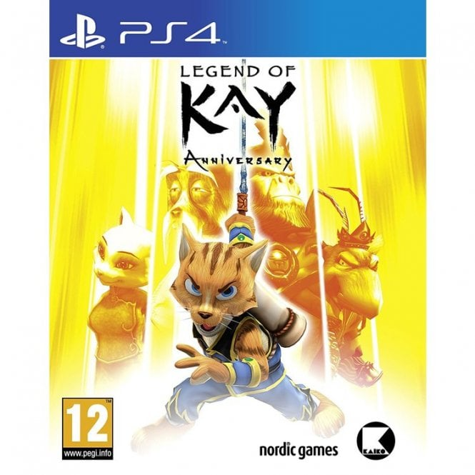 Legend of Kay PS4