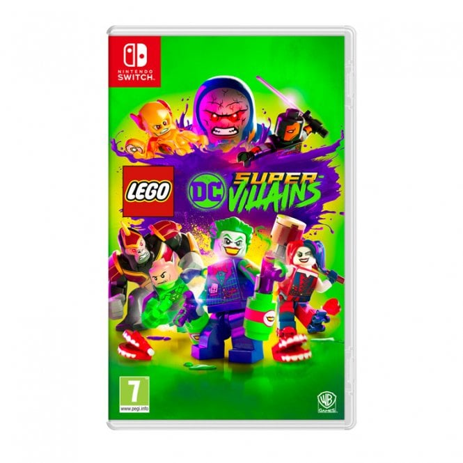Lego DC Super Villains Switch