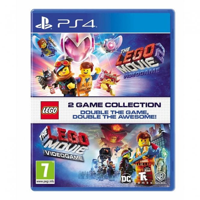 LEGO Movie 1 & 2 Double Pack PS4