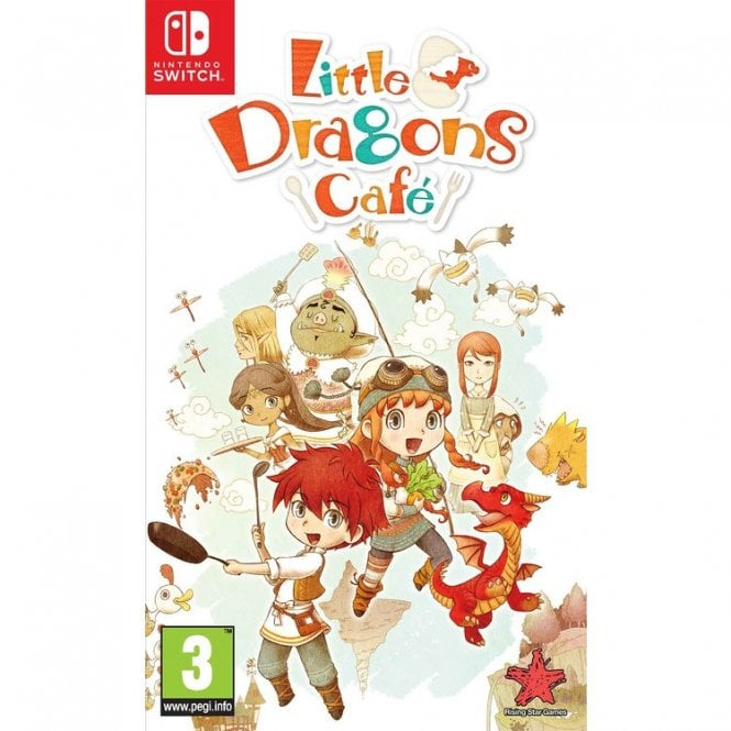Little Dragons Cafe Switch
