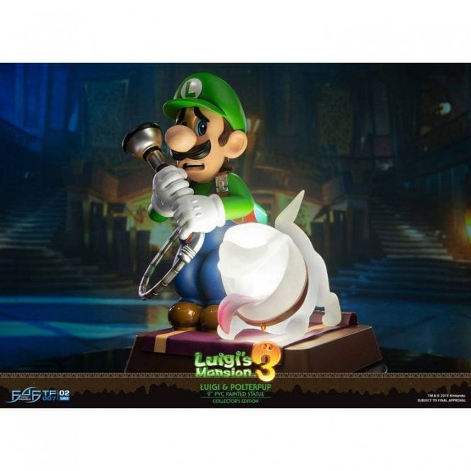 Luigi's Mansion 3 Luigi & Polterpup Collector's Edition Statue