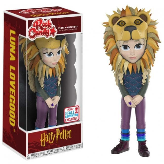 Luna Lovegood with Lion Head Exclusive Rock Candy